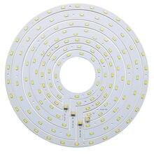 Yuvarlak LED tavan ışık paneli Kurulu 12 W 15 W 18 W 24 W SMD 5730 Halka Manyetik Lamba Plaka Beyaz/ sıcak Beyaz Mıknatıs tornavida