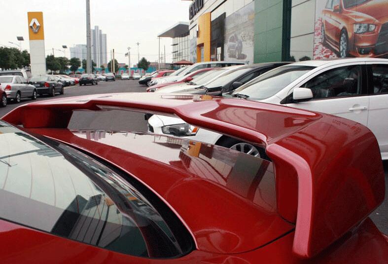 Aileron arrière d'aile de queue d'abs d'oem d'osmrk pour Mitsubishi Lancer ex LANCER FORTIS 2009-2015 non peint