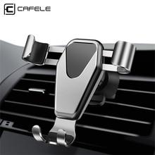CAFELE 360 градусов вращения Автомобильный держатель Гравитация вентиляционное отверстие автомобильный держатель телефона для iphone samsung huawei Xiaomi Защитный gps держатель