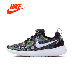 Original New Arrival Official NIKE ROSHE TWO PRINT Women's Low Top Running Shoes Sneakers Classic breathable shoes anti-slip