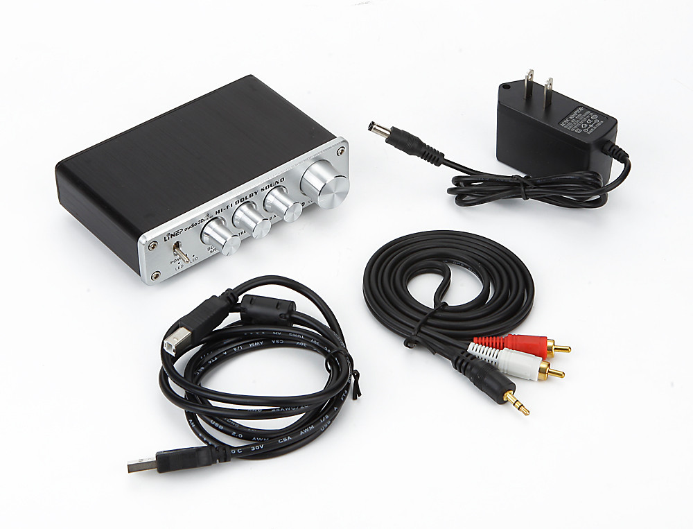 ФОТО Dolby surround sound audio processor USB decoding DAC independent amp controller ASIO
