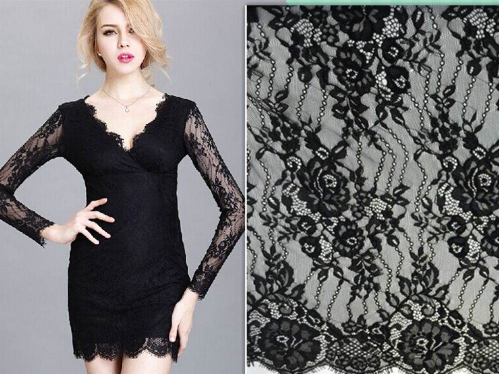 Hot Style Summer Style Fancy French Raschel Lace Chantilly