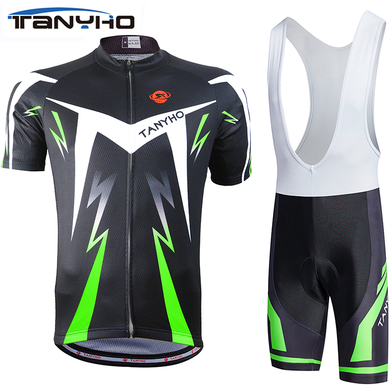 fluorescence green  Cycling jersey  bicicleta  mountain bike ropa ciclismo Bicycle maillot cycling Clothing Shorts  Sets-in Cycling Sets from Sports & Entertainment    3