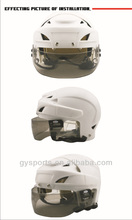 Winter national vent-cut sports goggles ice hockey helmet visor helmet equipment with CE