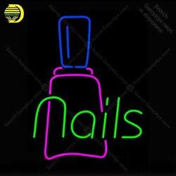 Neon Sign Nagels met Fles Neon Licht voor Winkel Display Neon Lampen Decoratieve Winkel Licht Arcade Adverteren Neon Light Custom