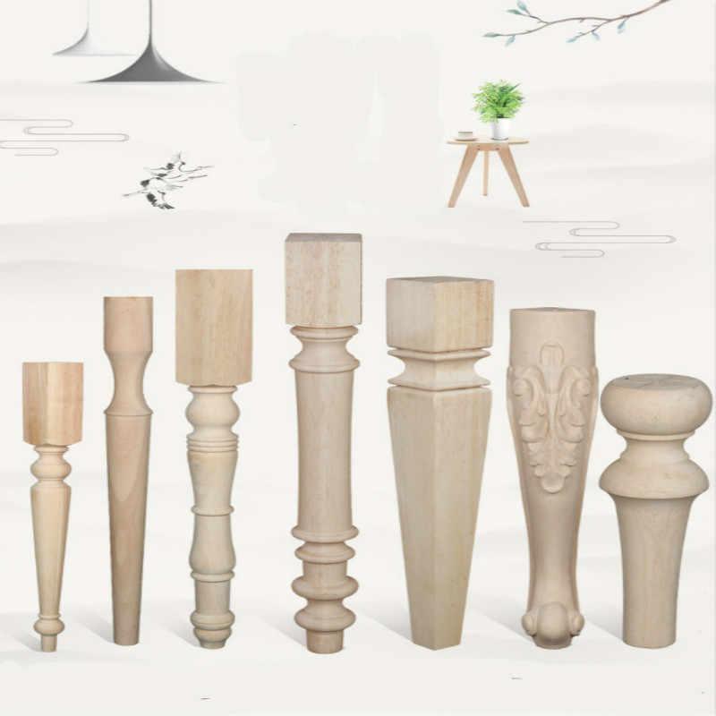Furniture Legs Solid Wood Cabinet Feet