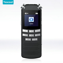 Yescool A70 64GB Metal mini camera Professional 720P HD Digital Voice Recorder pen Meeting Training Class camcorders