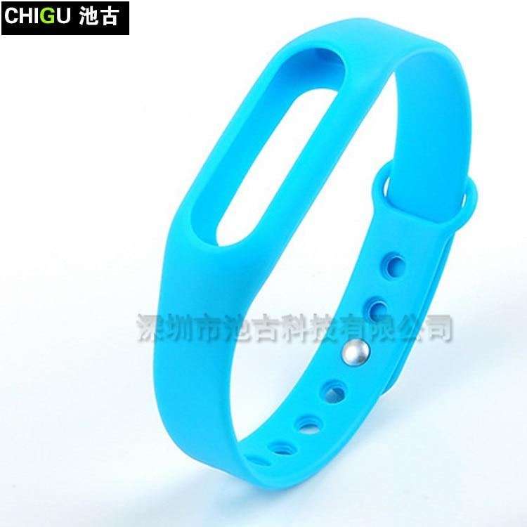 5 Bracelet en Silicone pour Xiao mi mi Bande 2 Intelligent Montre Bracelet Sangle mi band2 mi bande 2 Sangle Pour xiao mi mi T345697908 181020 bobo