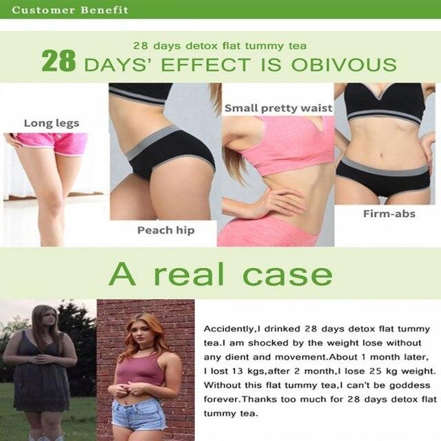 28 Days Natural Slimming Tea Fat Burning Tea for Weight Losing Slimming Healthy Skinny 2019 5