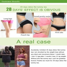 28 Days Natural Slimming Fat Burning Tea for Weight Loss