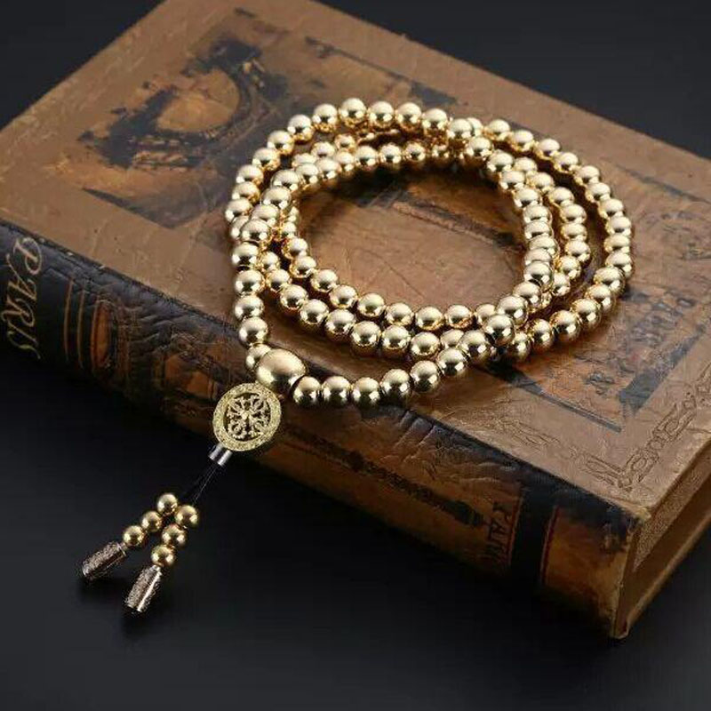 Pure Copper Fighting Necklace Self-defense Bracelet Weapon Whip