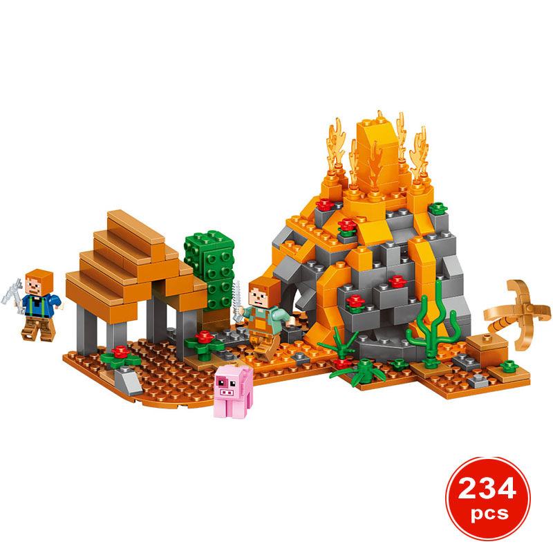 234Pcs Minecrafted Manor Estate House My World model Building Blocks Bricks Set Compatible Legoed City Boy Toy For Kids oh my god it s electro house volume 4