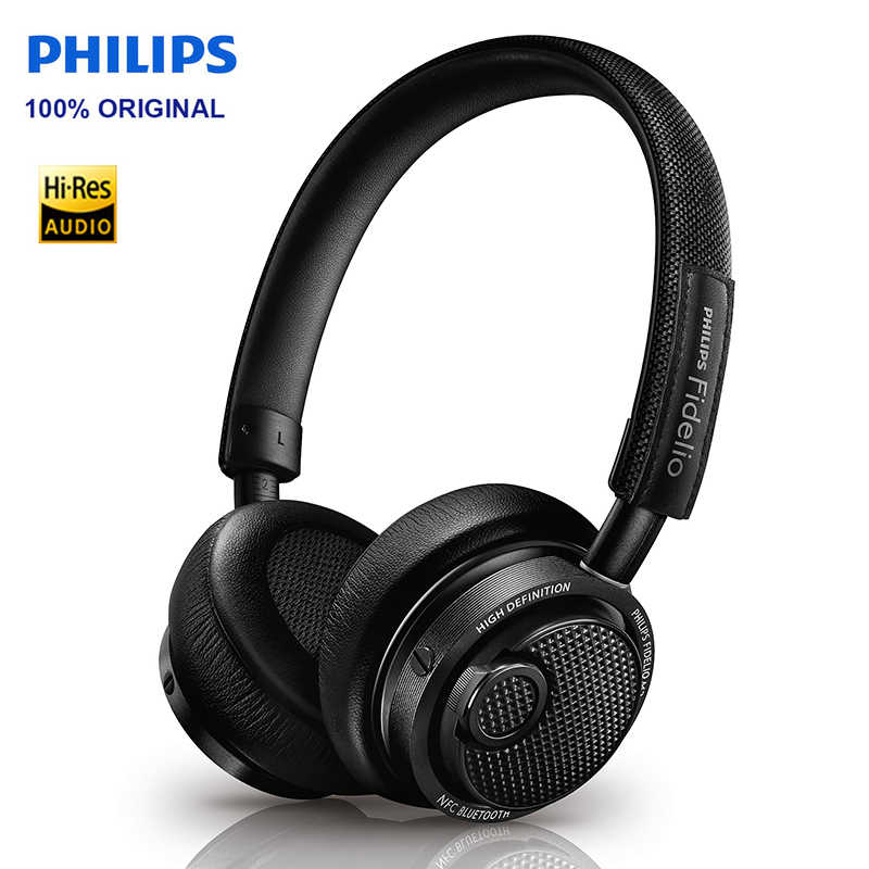 ... Оригинальный Philips M2BT наушники Беспроводной Bluetooth Черный  Оголовье на наушники HIFI Музыка гарнитура для смартфонов ... aac3e8bd6aa13