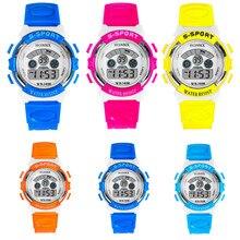 Творческий Повседневное цифровые часы Дети Водонепроницаемый Для мужчин мальчик светодиодный цифровой будильник Дата Спорт светодиодные Часы Обувь для девочек Винтажные часы