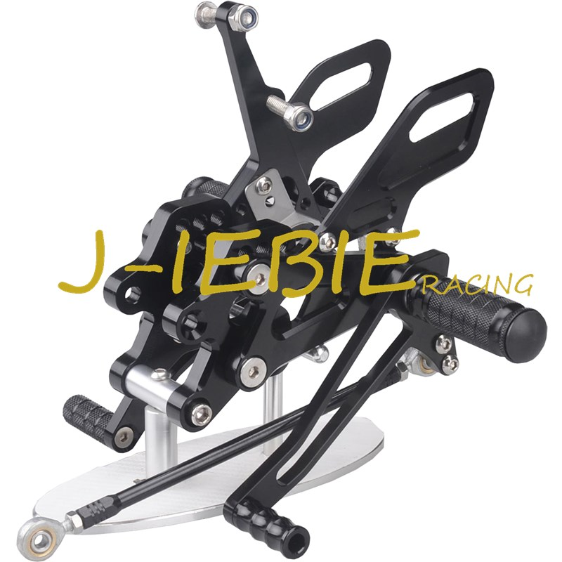 CNC Racing Rearset Adjustable Rear Sets Foot pegs Fit For Kawasaki NINJA ZX10R 2004 2005 BLACK morais r the hundred foot journey
