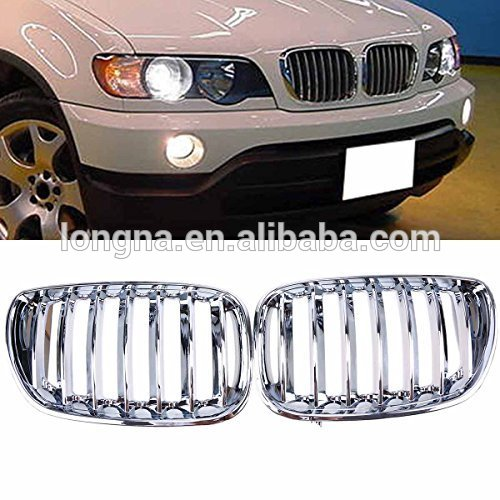 High Quality and Cheap Car Accessories Chrome Front Kidney Grill ...