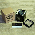 SMAEL Original Gift Box  for Sport Watches Mental Box Men Watch Accessory LED Digital Watch Box Protection Sqaure Box for Watch