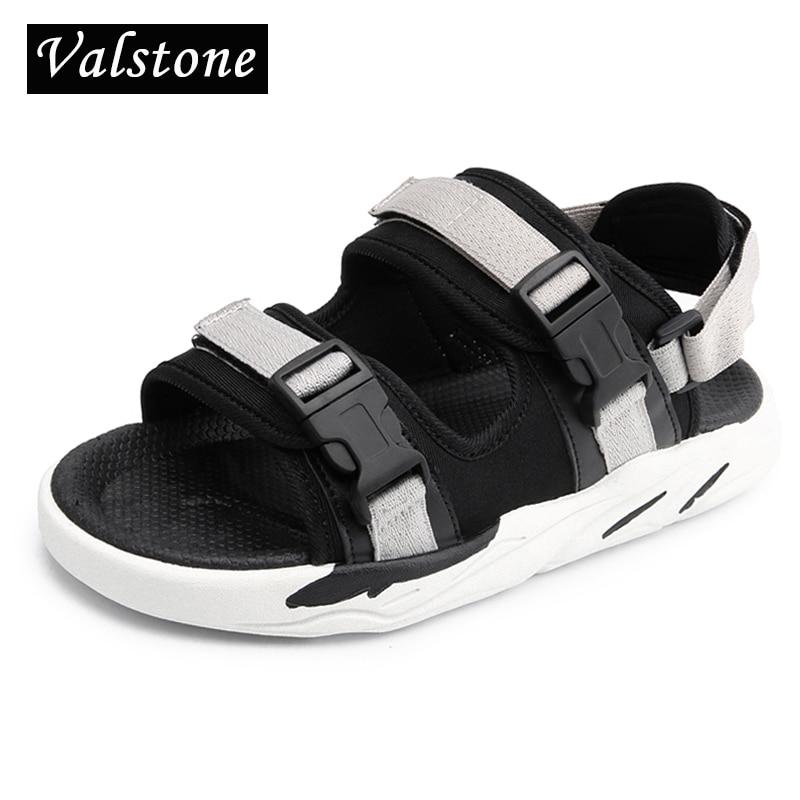 Valstone miesten casual-sandaalit Avoin kärki kesä Cool tossut - Miesten kengät