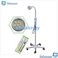 High Quality Floor standing mobile surgery 7 lamps 21W LED dental operating cold light tools