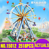 LEPIN 15012 the Ferris Wheel model Educational building blocks set Classic Compatible Legoing 10247 Architecture Toys as gifts