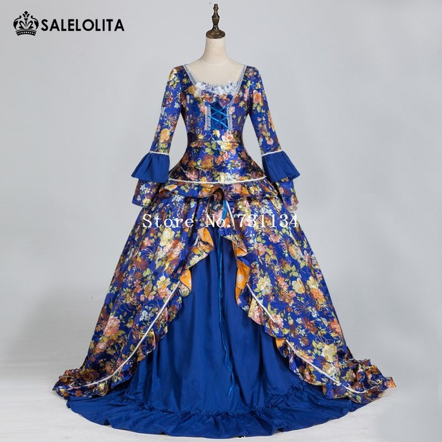 Upscale Baroque Masquerade Gown Reenactment Gothic Victorian Princess Dress Waltz Carnivale Dress Costume : masquerade dresses costumes  - Germanpascual.Com
