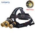 8000Lm CREE XML T6+2R5 LED Headlight Headlamp Head Lamp Light 4-mode torch  for fishing Lights