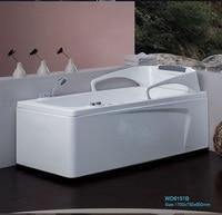 Left Right Apron Fiber Glass Acrylic Whirlpool Bathtub Hydromassage Tub Nozzles Spary Jets Spa RS6151B