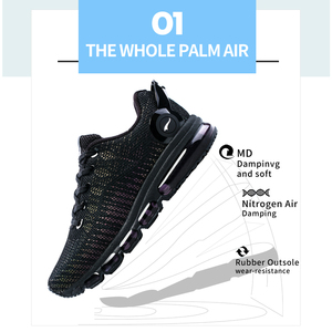 Image 3 - ONEMIX Running Shoes For Men Sports Sneakers For Women Reflective Mesh Vamp Sneakers For Outdoor Sports Jogging Walking Shoes