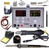 SMD Hot Air  Gun Auto Sleep  BGA Rework Solder Station  110V/220V usb  5V 2A  DC Power Supply 30V-5A  1