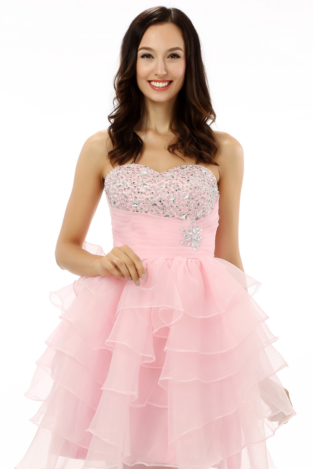 Vistoso Vestidos Con Gradas Para La Madre De La Novia Modelo ...