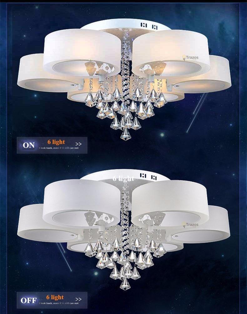 High Quality crystal led ceiling light