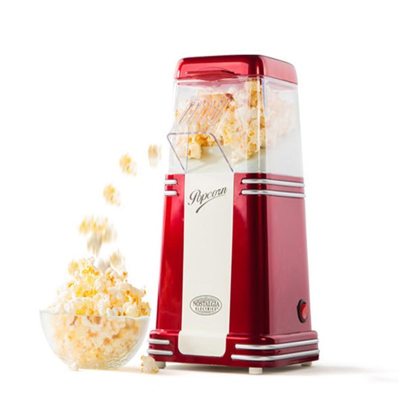 RHP 310 Classic popcorn machine Household mini automatic electric hot air popcorn machine 10pcs fast food equipment automatic use popcorn machines for sale high quality use popcorn machines for sale caramel popcorn machine