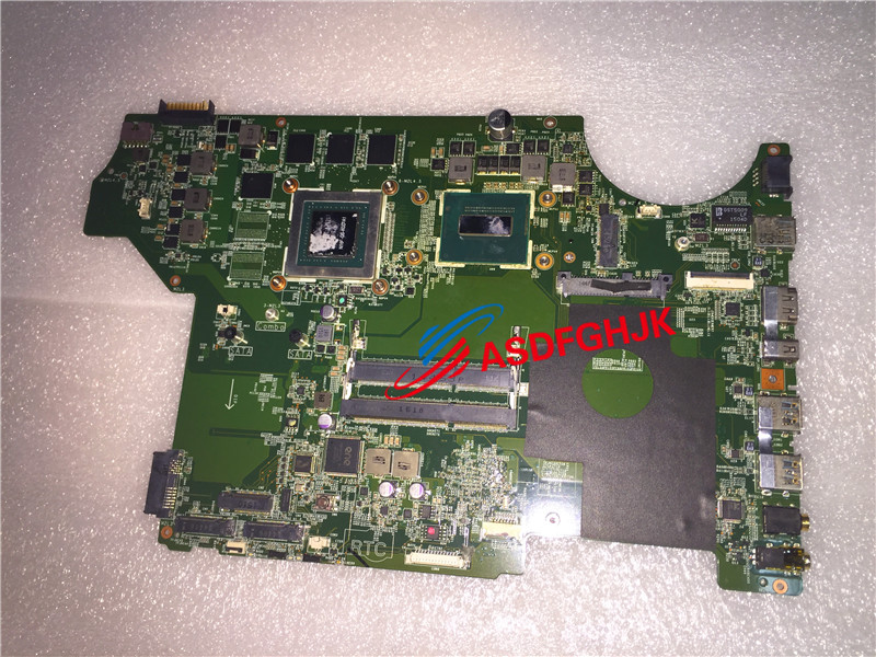 Original Ms-16j11 Ms-17911 For MSI GE72 GE62 LAPTOP MOTHERBOARD WITH I5-4210HQ And Gtx965m  Test OK Free Shipping