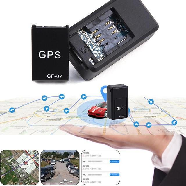 GF07 GSM GPRS Mini Car GPS Locator Tracker Car Gps Tracker Anti-Lost Recording Tracking Device Voice Control