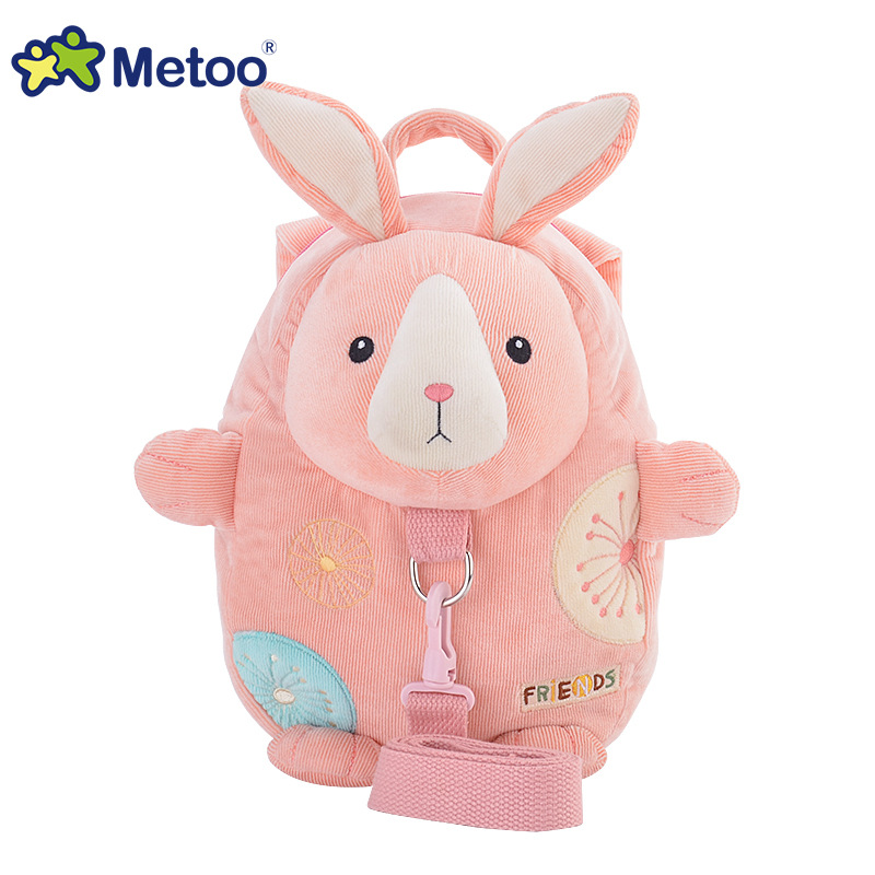 Metoo-jelly-beans-baby-children-rabbit-backpack-with-safety-harness-cute-little-backpack-kindergarten-school-bag-1