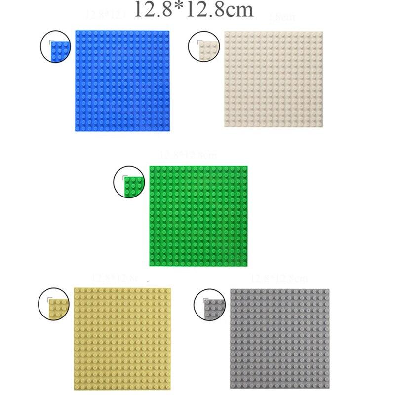 TUKATO Classic 16*16 Base Plates Plastic Bricks Compatible Legoe Construction Building Blocks BasePlate Board Construction Toys(China)