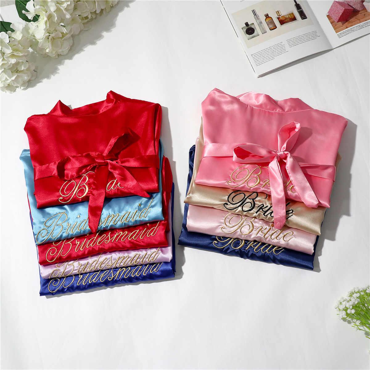 Cô Dâu Phù Dâu Cưới Ngắn Áo Tắm Váy Bầu Mới Nữ Kimono Mùa Hè Yukata Váy Ngủ Nữ Sleepshirts Đồ Ngủ Đêm M-XL