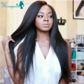 7a Glueless Full Lace Human Hair Wigs With Baby Hair Silk Top Wig Light Yaki Brazilian Virgin Hair Full Lace Wig For Black Women