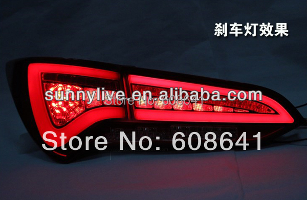 Voor Nieuwe Hyundai Santa Fe Ix 45 led achterlicht lamp