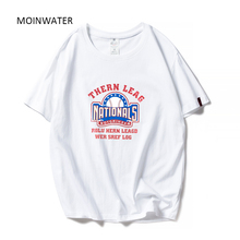 MOINWATER Women Casual High Street T-shirts Lady 2019 New Fa