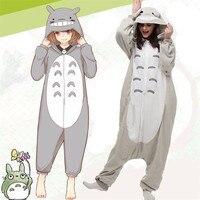 Takerlama Totoro Kigurumi Cosplay Costume One Piece Jumpsuit Pyjamas Hooded Sleepwear Halloween Carnival Party Cosplay Costume