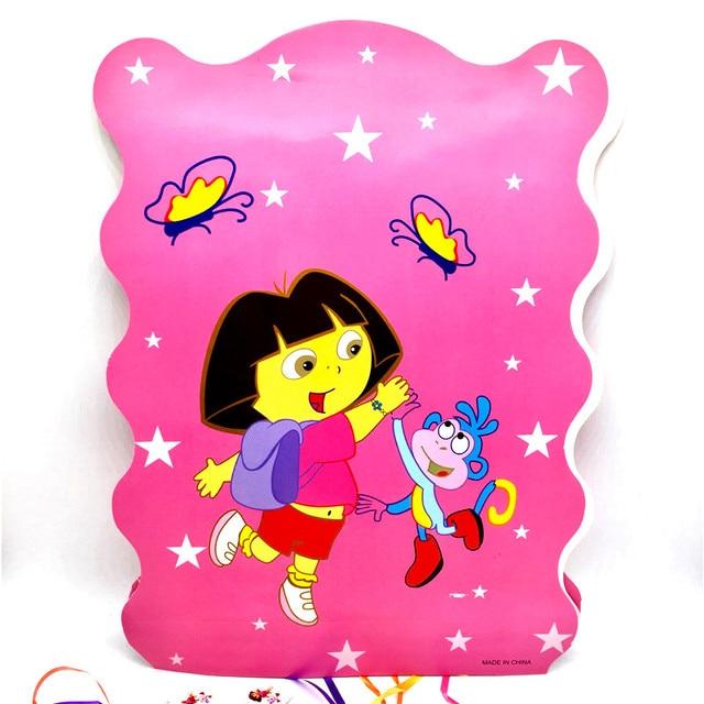 1pcs Lot Dora Folding Pinata Funny Birthday Party Supplies