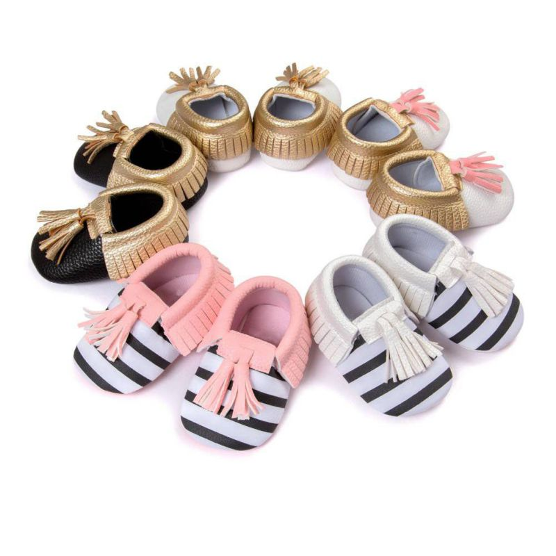 Baby-Toddler-Infant-Unisex-Boys-Girls-Soft-PU-Leather-Tassel-Moccasins-Bow-shoes-Without-Brand-2