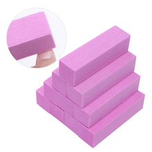 Pink White Colorful Nail Files Set Sanding Sponge Buffers Block Grinding Polishing 4/10 Pcs Manicure Nail Art Tool Kit