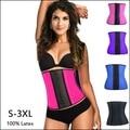 5 pçs/lote Trainer Cintura corsets Corset Látex 100% Slimming Shapewear Bodysuit do Espartilho Mulheres Sexy Latex Cintura levantador