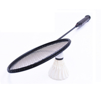 2PCS Pair High Quality Badminton Rackets Light Weight Carbon Sports Badminton Racket 4U Durable Sport Equipment
