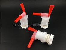 beer brew Bottling Bucket Plastic Spigot,Tap replacement homebrew spigot, 3 pcs/lot