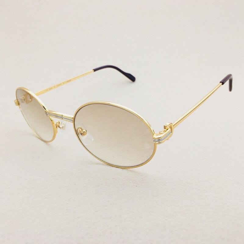 2018 femmes de haute qualité vintage lunettes de soleil hommes de luxe hommes lunettes de soleil marque designer carter lunettes cadre de lunettes de soleil ovale nuances