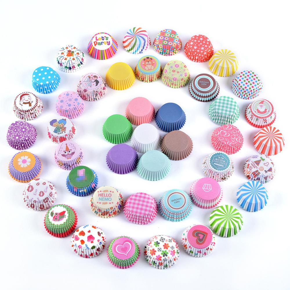 cup cake paper 1000pcs chocolate case cupcake Liner baking cups mold cake stand decorating for Wedding birthday party supplier