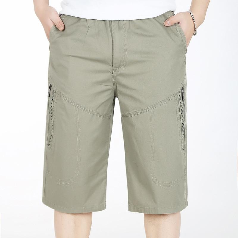 Spring Summer Military Cargo Tactical Short Cotton Men Trousers Outdoor Shorts Women Combat Hiking Bermudes Plus Size